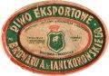 Розділ Browar Antoni Hr.Lanckoroński Eksport PL-14-RZD-03-EKS-K-хх-04-002